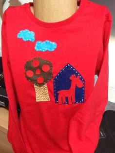 Camisola de criança de manga comprida. Loja online pinturas da lyra