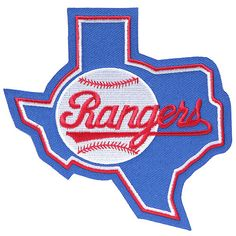 Texas Rangers Retro Sleeve Patch