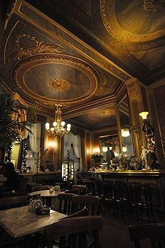 Café Savoy, Wien (Fantastic mirrors whcih are hard to photograph). Full of Nasc… Café Savoy, Wien (Fantastic mirrors whcih are hard to photograph). Full of Naschmarkt, shoppers on Saturday during the day, it's a. Dream Home Design, House Design, Vienna Cafe, Budapest, Monuments, Café Bar, Central Europe, City Break, Travel Tips