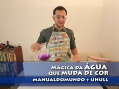 Manual do Mundo - A mágica da água que muda de cor Youtube, Videos, Kids Playing, Kids Activity Ideas, Toddler Science Experiments, Science Projects For Kids, Science Fun, Convenience Store, Vinegar