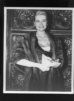 Grace Kelly in 1955. From eBay.