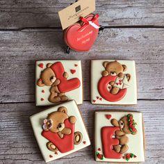 Valentines Day Cookies, Valentines Gift Box, Valentine Cookies, Birthday Cookies, Tea Cookies, Spice Cookies, Fancy Cookies, Yummy Cookies, Cupcake Cookies