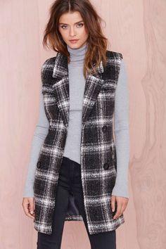 Fall Off Sleeveless Coat | Shop Jackets + Coats at Nasty Gal