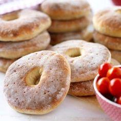 Hålkakor - enkelt recept - Mitt kök Wheat Free Recipes, Gf Recipes, Bread Recipes, Baking Recipes, Recipies, Savoury Baking, Bread Baking, Best Rhubarb Recipes, Our Daily Bread