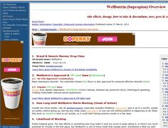AdSense puts 3 ads for Dunkin Donuts on the Wellbutrin page but only 1 on the Remeron page. WTF? People who take Remeron specifically want to eat doughnuts all day long. People who take Wellbutrin don't want to eat anything.