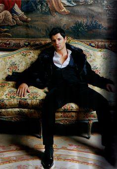 Greek singer Sakis Rouvas-our Greek God Greek Men, Greek Gods, Tiger Beat, Greek Music, Man O, Cool Style, Men's Style, Dream Guy, Movies Showing