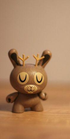 Kidrobot Dunny Endangered species series vinyl toy