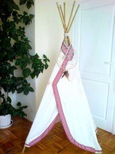 Indiańskie tipi, namiot do pokoju lub ogrodu!! w investmama na DaWanda.com