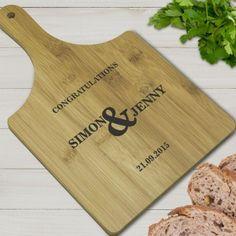 Personalised Bamboo Paddle Board - Congratulations