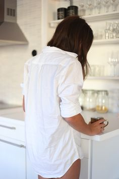 White T shirt Coffee