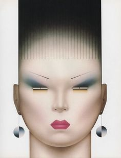 "palmandlaser: ""Stanislaw Fernandes, from Graphis No. Airbrush Art, Arte Popular, Graphic Design Posters, Illustrations And Posters, Art Direction, Art Inspo, Art Drawings, Illustration Art, Character Design"
