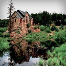 Saint Malo - Chapel on the Rock, Colorado