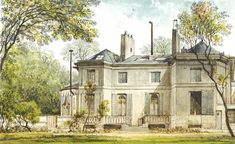 Turning off the Rue Chantereine in October 1795 and continuing down a long driveway formed by the walls of the adjacent properties, Napoleon Bonaparte would have found himself at the modest private residence in which Marie-Joseph-Rose de Tascher de la Pagerie lived. Their romantic entanglement began within these walls (appropriately enough, since Josephine was renting … La Malmaison, Empress Josephine, Long Driveways, Empire, Turn Off, Paris, Napoleon, Images, Mansions