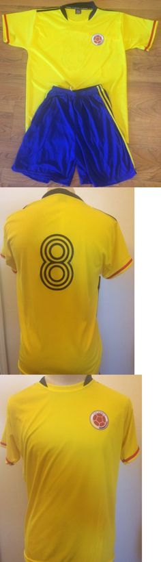 Soccer-Other 2885: Colombia Soccer Team Uniform 20 Jersey W Numbers +20 Shorts Size L Sale 15% Off -> BUY IT NOW ONLY: $254.99 on eBay!