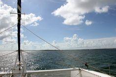 Views from the catamaran in Cayo Santa Maria, Cuba. Cayo Santa Maria, Air Hotel, Hotel Packages, Vacation Resorts, All Inclusive, Catamaran, Cuba, Cruise, Cruises