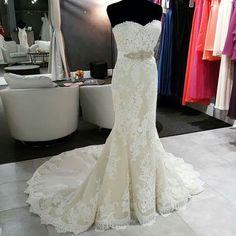 Princia-gorgeous, delicate lace, mermaid