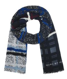 Marc by Marc Jacobs Chalky Tartan Scarf