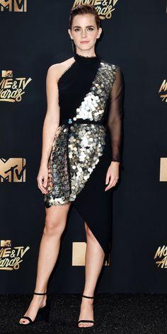 Emma Watson at the MTV Movie and TV Awards