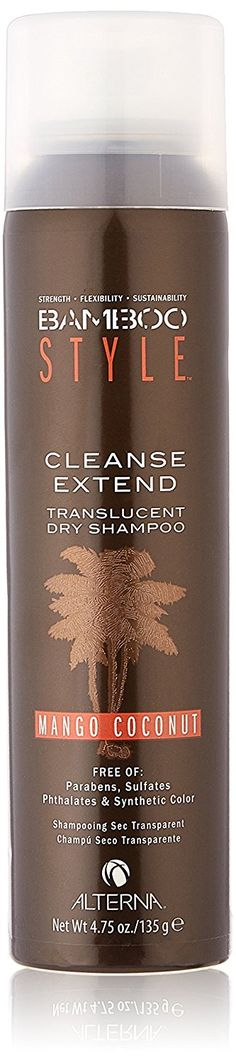 Alterna Bamboo Style Cleanse Extend Translucent Dry Shampoo - Mango Coconut - 4.75 Oz * Review more details here : Hair Care Shampoo
