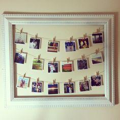 Cute idea to display Instagram photos