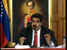 PARA LA HISTORIA MADURO VUELVE A AMENAZAR (TOMADO DE MEDIOS VTV)