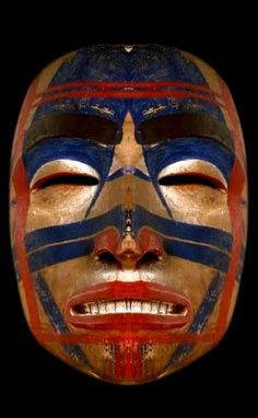 Haida Mask, Native American, 1800 -1850