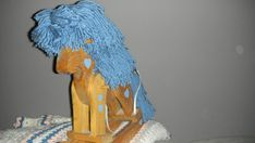 handmade wooden rocking horse great for dolls and teddy by EMTWTT, $28.99