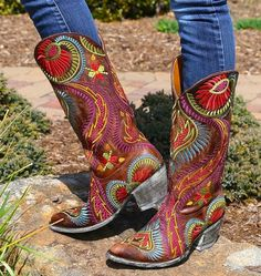 Shop the Old Gringo Tiegan Boot L1371-6 at Rivertrail Mercantile.  Enjoy fast and free shipping on all Old Gringo Boots.