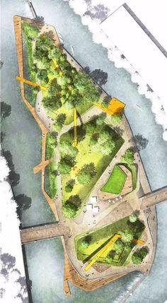Landscape Gardening Evening Course soon Landscape Architecture Graphics Pdf Landscape Model, Landscape Plans, Urban Landscape, Landscape Design, Collage Landscape, Park Landscape, Masterplan Architecture, Architecture Plan, Architecture Geometric