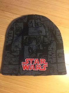 6c87cb1647e65c STAR WARS SKULL CAP Knit Beanie Ski Hat Warm Winter Headgear Knit Gray # fashion #clothing #shoes #accessories #mensaccessories #hats (ebay link)
