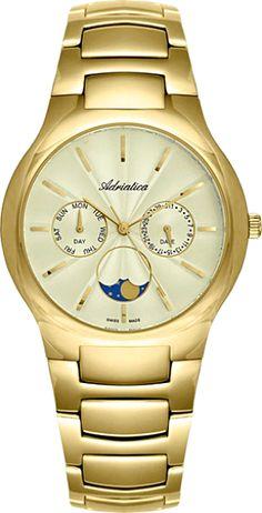Часы Adriatica A3168.R123Q Часы Rhythm SI1605R03
