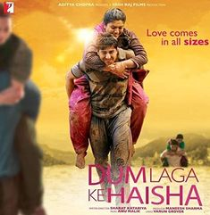 Dum Laga Ke Haisha Hindi Blu Ray (Bollywood/ Cinema/ Movie/2015 Film)