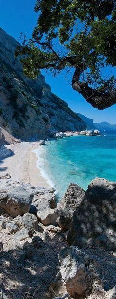 Cala Mariolu, Sardinia, Italy - hello beautiful blue water & sky
