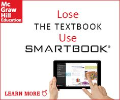 McGraw-Hill Education 15% Off Promo Code on SmartBook. SmartBook - Proven To Get A Better Grade