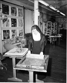 Sister Corita Kent (American, 1918-1968) A teacher at Immaculate Heart College in Los Angeles and a civil rights, feminist, and anti-war activist, Kent was one of the most popular American graphic artists of the 1960s and 1970s. Throughout her rich and varied career, she made thousands of posters, murals, and signature serigraphs that combine her passions for faith and politics.
