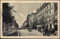 Ansichtskarte / Postkarte Berlin, Blick auf Unter den Linden, Pferdekutschen    gelaufen als Feldpost 1916