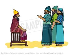 Before Nebuchadnezzar - Fiery Furnace PowerPoint presentation - Lamp Bible Pictures