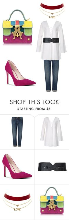 """Weering set"" by sofiya-abdulaeva on Polyvore featuring мода, Nine West, Charlotte Russe и Giancarlo Petriglia"