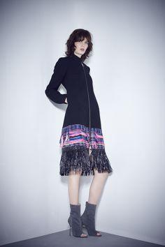 Mahlia Kent tweed coat | MILLY Pre Fall 15
