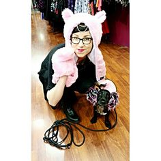 Lämpimiä ja pörröisiä asioita kaikille! ♡ #furry #warm #pink #earmuffs #cute #pastel #dog #kawaii #funny #meow #paws #alternative #alternativefashion #style #cybershop #cybershopkamppi #kamppi Kawaii, Photo And Video, Instagram, Style, Swag, Kawaii Cute, Stylus, Outfits