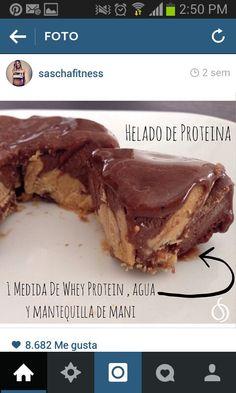 Helado proteína