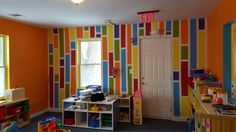 New painted room for a day care