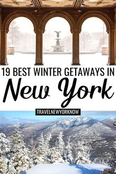 best winter getaways from nyc | romantic winter getaways from NYC | romantic winter getaways near NYC | winter weekend getaways from NYC | best winter getaways from NYC | winter day trips from NYC | winter day trips from New York City | best winter getaways from New York City | winter getaways new york | upstate new york winter getaways | winter spa getaways from NYC | winter trips from NYC | weekend trips from NYC winter | winter road trips from NYC | #NYCtravel #winter #NewYork Winter Getaways From Nyc, Winter Weekend Getaways, Romantic Winter Getaways, Weekend Trips, Usa Travel Guide, Travel Usa, Travel Tips, Places To Travel, Travel Destinations