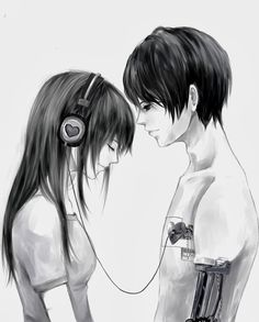 Couples, cute anime couples, anime cupples, sad anime, me me me anime Anime Cupples, Art Anime, Emo Couples, Cute Anime Couples, Manga Couple, Anime Love Couple, Art Manga, Manga Drawing, Anime Cosplay