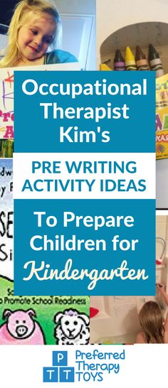 Pre Writing Activity Ideas to Help Prepare for Kindergarten Activities For 5 Year Olds, Social Skills Activities, Autism Activities, Preschool Writing, Preschool Education, Prewriting Skills, Occupational Therapy Activities, Handwriting Activities, Pre Writing