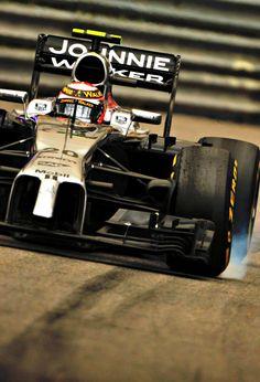 Mercedes Benz McLaren F1 team -  Kevin Magnussen - Monaco 2014