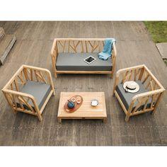 1000 ideas about salon de jardin teck on pinterest for Casa fauteuil jardin