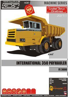 International 350 payhauler