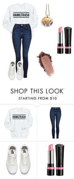 """""""Life doesn't discriminate"""" by leafe ❤ liked on Polyvore featuring Topshop, Vans and Rimmel"""