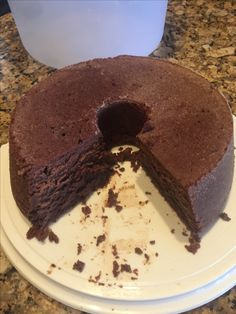This is a recipe from Paula Deen that appeared on bakeorbreak.com when I was searching for a chocolate cake. I loved the idea of a chocolate cake with cream cheese in the batter! I substituted half the butter with vegetable oil just because I was running out of butter but it still turned out very rich. My 2 and 4 yr old boys were fighting over the crumbs it was so good!
